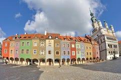 Quadrato del mercato, Poznan, Polonia Immagini Stock