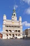 Quadrato del mercato, Poznan, Polonia Immagini Stock Libere da Diritti