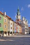 Quadrato del mercato, Poznan, Polonia Fotografia Stock Libera da Diritti