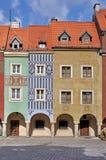 Quadrato del mercato, Poznan, Polonia Fotografie Stock Libere da Diritti