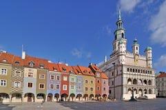 Quadrato del mercato, Poznan, Polonia Immagine Stock