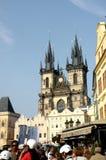 Quadrato del mercato a Praga 12 Immagini Stock Libere da Diritti