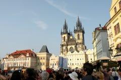 Quadrato del mercato a Praga 14 Fotografie Stock Libere da Diritti