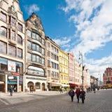 Quadrato del mercato - quadrato principale a Wroclaw, Polonia Fotografie Stock Libere da Diritti