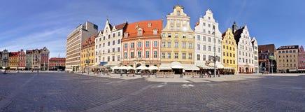 Quadrato del mercato, Wroclaw, Polonia Fotografia Stock Libera da Diritti