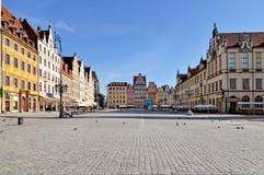 Quadrato del mercato, Wroclaw, Polonia Fotografia Stock