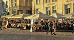 Quadrato del municipio Immagine Stock