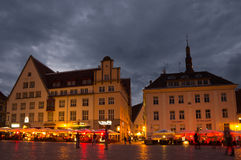 Quadrato del municipio Fotografie Stock