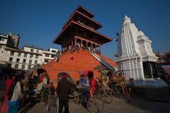 Quadrato del palazzo di Patan Fotografia Stock Libera da Diritti
