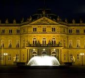 Quadrato del palazzo di Stuttgart Fotografia Stock