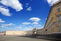 Quadrato del palazzo a St Petersburg Fotografia Stock Libera da Diritti