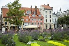 Quadrato del ` s di Riga dei livoni Fotografie Stock