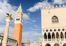 Quadrato del ` s di St Mark, Venezia, Italia Immagine Stock Libera da Diritti
