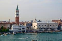 Quadrato del ` s di St Mark, Venezia, Italia immagine stock