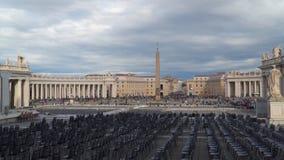 Quadrato del ` s di St Peter stock footage