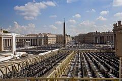 Quadrato del ` s di St Peter fotografie stock