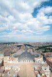 Quadrato del ` s di St Peter, Immagine Stock Libera da Diritti