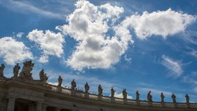 Quadrato del ` s del Vaticano St Peter Immagini Stock