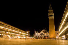 Quadrato del San Marco Fotografia Stock