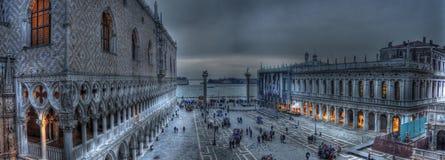 Quadrato del San Marco (HDR) Fotografia Stock