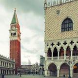 Quadrato del San Marco a Venezia fotografia stock