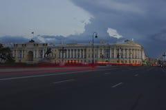 Quadrato del senato, St Petersburg, Russia fotografie stock