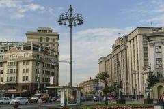 Quadrato del teatro a Mosca Immagine Stock