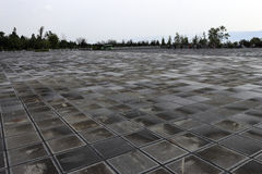 Quadrato del tempio del chongsheng Fotografie Stock Libere da Diritti