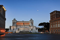Quadrato dell'altare di Roma Fotografie Stock