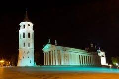 Quadrato della cattedrale Fotografia Stock Libera da Diritti