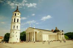 Quadrato della cattedrale Fotografie Stock