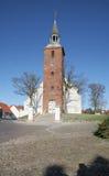 Quadrato della chiesa Fotografia Stock Libera da Diritti