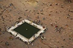 Quadrato della moschea Fotografia Stock Libera da Diritti