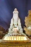 Quadrato della Spagna nella capitale spagnola Fotografie Stock Libere da Diritti