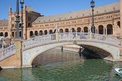 Quadrato della Spagna, Siviglia. Immagine Stock Libera da Diritti