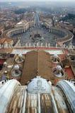 Quadrato della st Peter, Vatican fotografie stock
