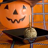 Quadrato della tabella di festa di Halloween Immagine Stock