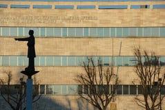 Quadrato di Alessandria nella parte anteriore al municipio Fotografia Stock