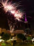 Quadrato di Aotea di festival di Auckland Diwali @, Auckland Immagine Stock
