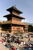 Quadrato di Bhaktapur Durbar Fotografia Stock Libera da Diritti