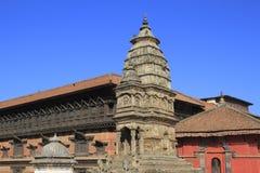 Quadrato di Bhaktapur Durbar Fotografia Stock