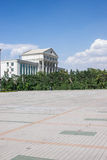 Quadrato di città Fotografia Stock Libera da Diritti