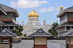 Quadrato di città del Brunei Fotografie Stock