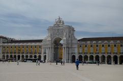 Quadrato di commercio, Lisbona, TM Wurl Fotografia Stock