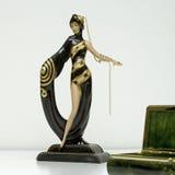 Quadrato di deco del figurine di Erte immagine stock libera da diritti