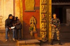 Quadrato di duba del Nepal Immagine Stock Libera da Diritti