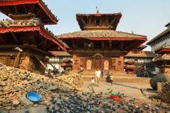 Quadrato di Durbar di Kathmandu Fotografia Stock Libera da Diritti
