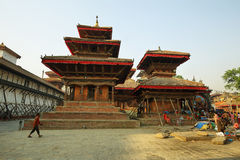 Quadrato di Durbar di Kathmandu Fotografie Stock Libere da Diritti