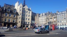 Quadrato di Edimburgo Fotografia Stock Libera da Diritti