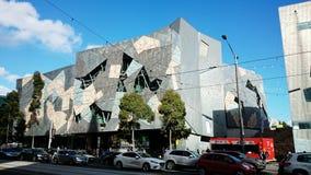 Quadrato di federazione di Melbourne Fotografia Stock